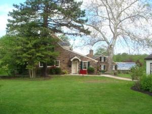 Green Hills Farm Home entrance