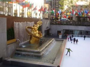 Rockefeller Center iced skating