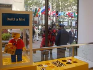 Lego Store at Rockefeller Center