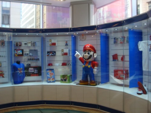 Mario at Nitendo World