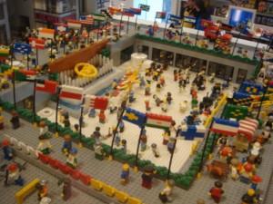 Rockefeller Center in lego