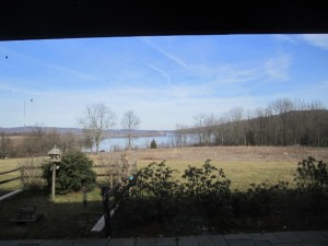 View from visitors center