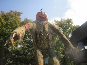 giant pumpkin creature