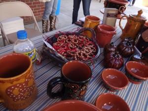 pretzel pottery