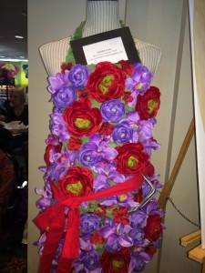 floral apron