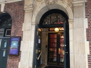 Grolier Club entrance