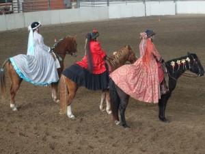 Victorian horseback riders