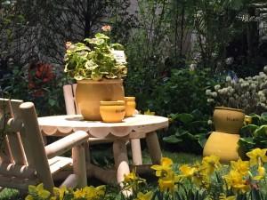 Winnie The Pooh garden
