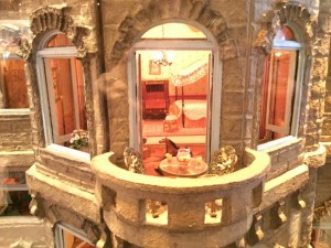 Dollhouse balcony