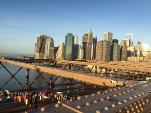 View from Brooklyn Bridge