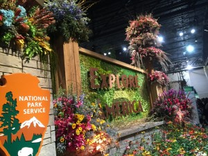 Flower Show entrance