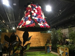 Floral Liberty Bell