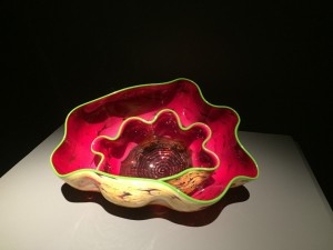 Pink CHIHULY Sculpture